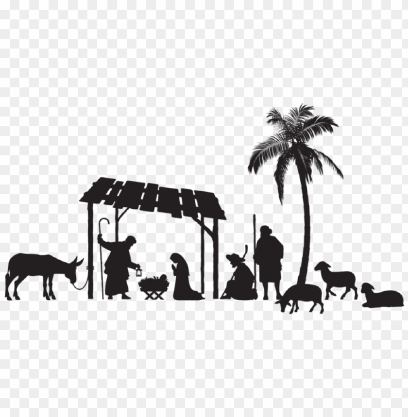 Nativity Scene Silhouette Png Free Png Images Toppng Window and wall options available. toppng