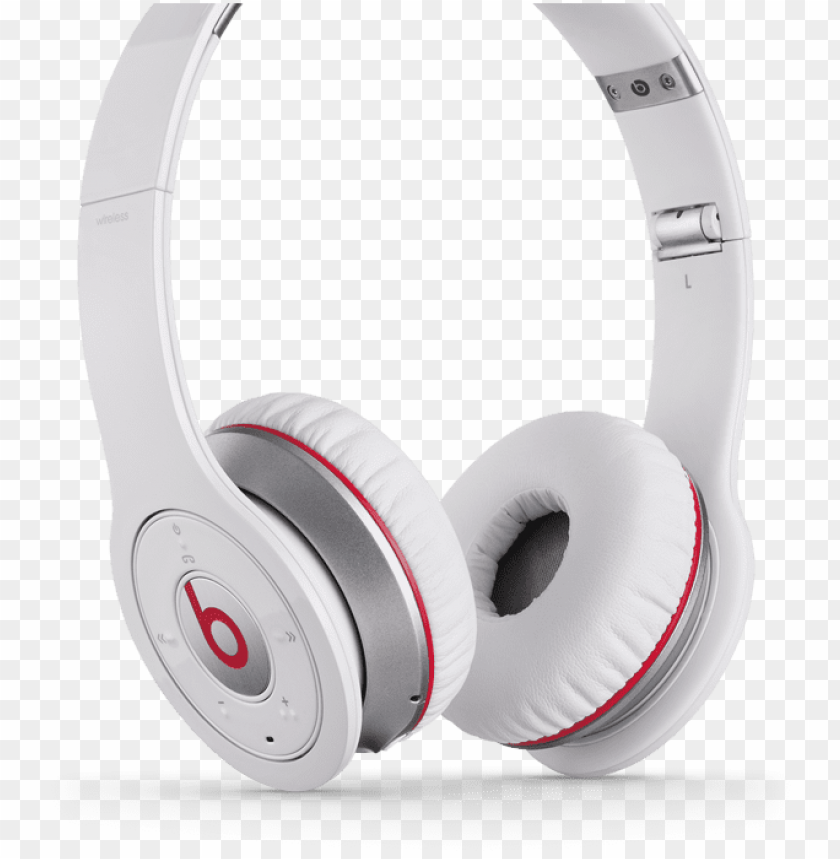 free PNG Наушники beats wireless - beats by dr dre wireless white PNG image with transparent background PNG images transparent