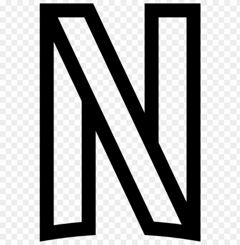 free PNG netflix logo png line black and white color PNG image with transparent background PNG images transparent