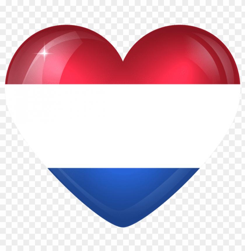 free PNG Download netherlands large heart flag clipart png photo   PNG images transparent