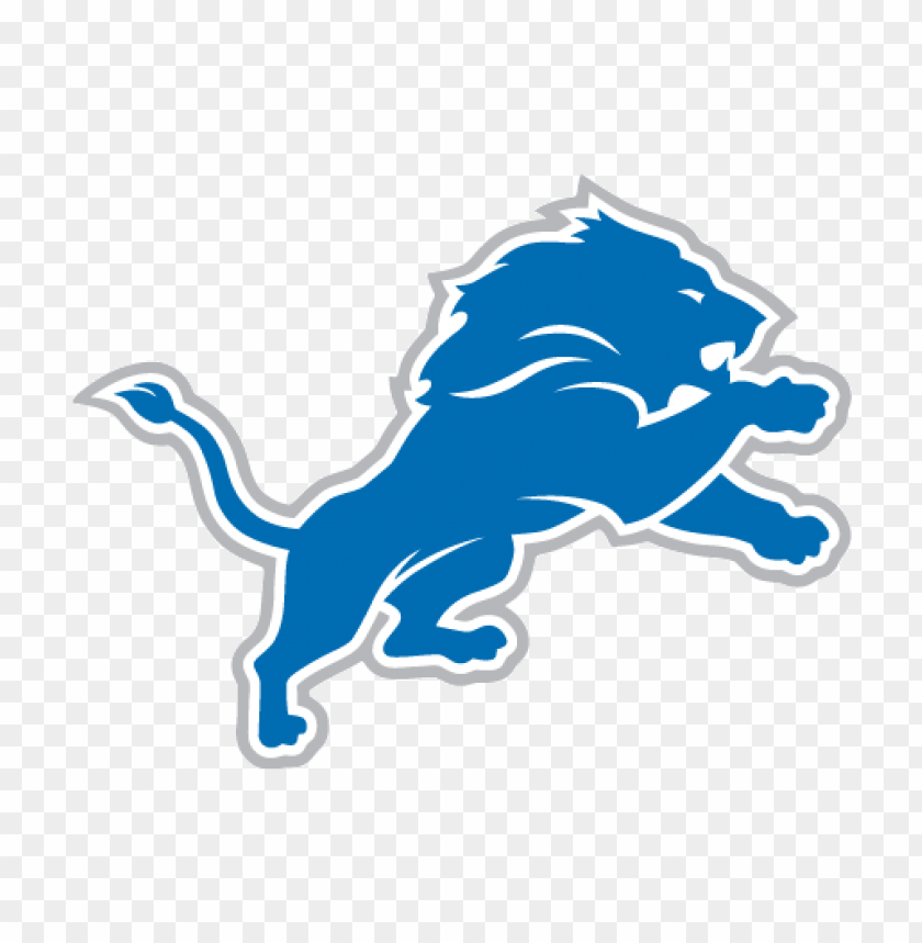 new detroit lions logo vector@toppng.com