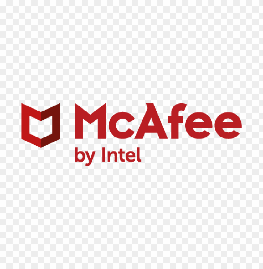 free PNG new mcafee brand logo vector PNG images transparent