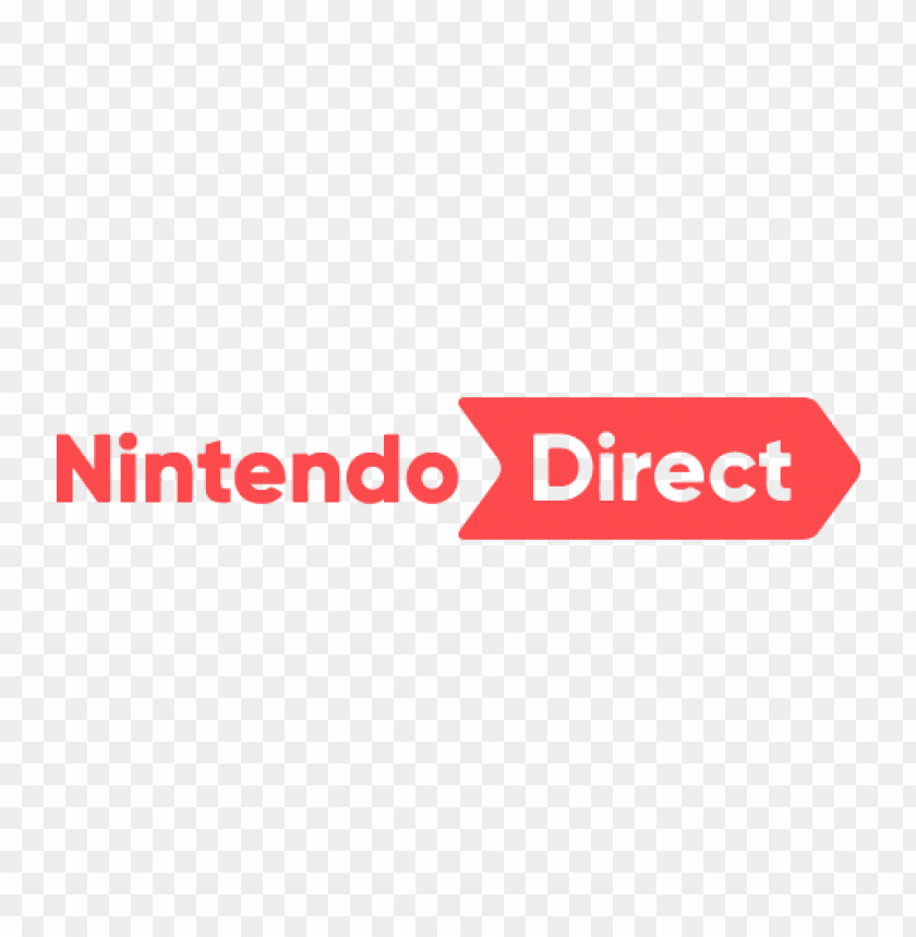 free PNG new nintendo direct logo vector PNG images transparent