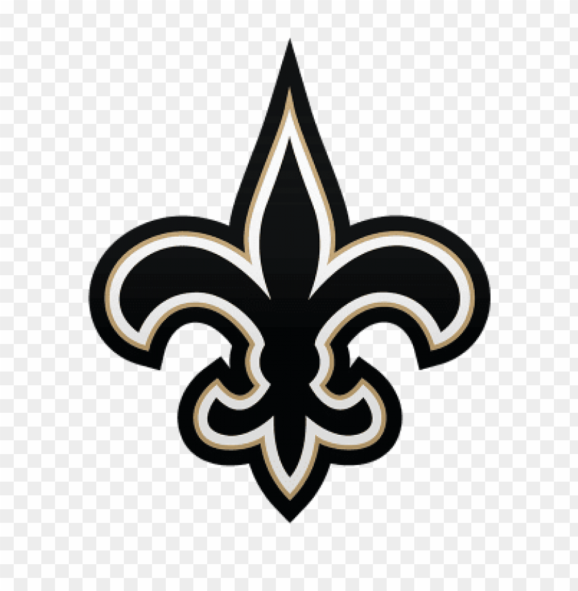New Orleans Saints Logo Png Images Background Toppng