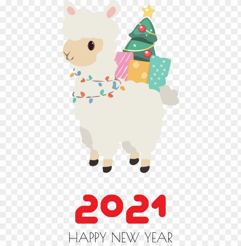free PNG New Year Cartoon Silhouette Watercolor painting for Happy New Year 2021 for New Year PNG image with transparent background PNG images transparent