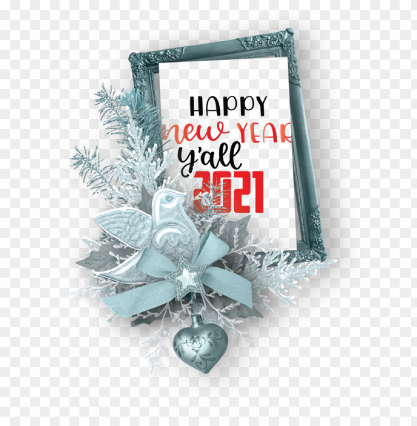 free PNG New Year Christmas Day Picture frame Scrapbooking for Happy New Year 2021 for New Year PNG image with transparent background PNG images transparent