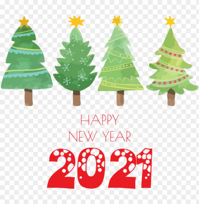 free PNG New Year Christmas tree Christmas Day Santa Claus for Happy New Year 2021 for New Year PNG image with transparent background PNG images transparent