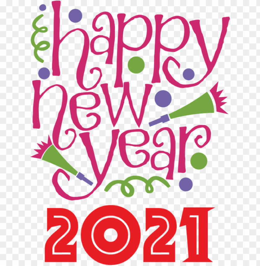 free PNG New Year New Year New Year's Day Wish for Happy New Year 2021 for New Year PNG image with transparent background PNG images transparent