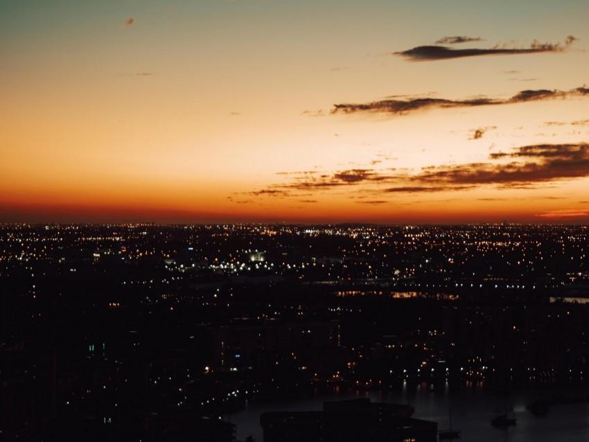 free PNG night city, skyline, city lights, night sky, night landscape background PNG images transparent