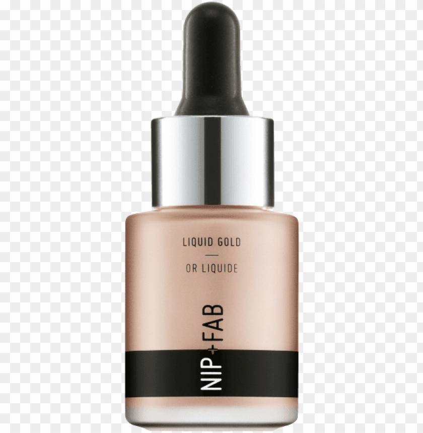 free PNG nip fab liquid gold highlighter rose gold 02 PNG image with transparent background PNG images transparent