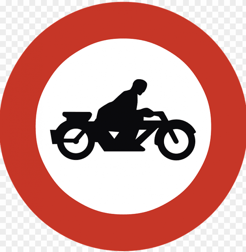free PNG Download no motorcycles road sign png images background PNG images transparent
