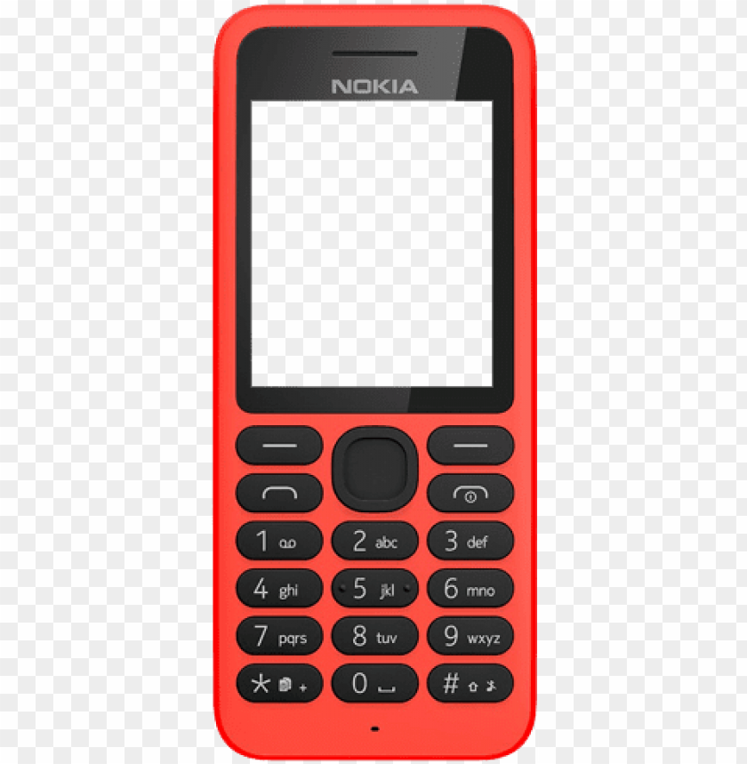 free PNG nokia 130 (dual sim) mobile phone PNG image with transparent background PNG images transparent