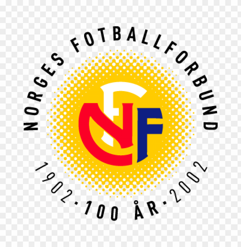 free PNG norges fotballforbund (100 years) vector logo PNG images transparent