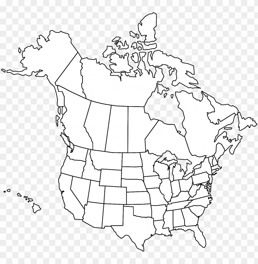 free PNG north america states and provinces PNG image with transparent background PNG images transparent