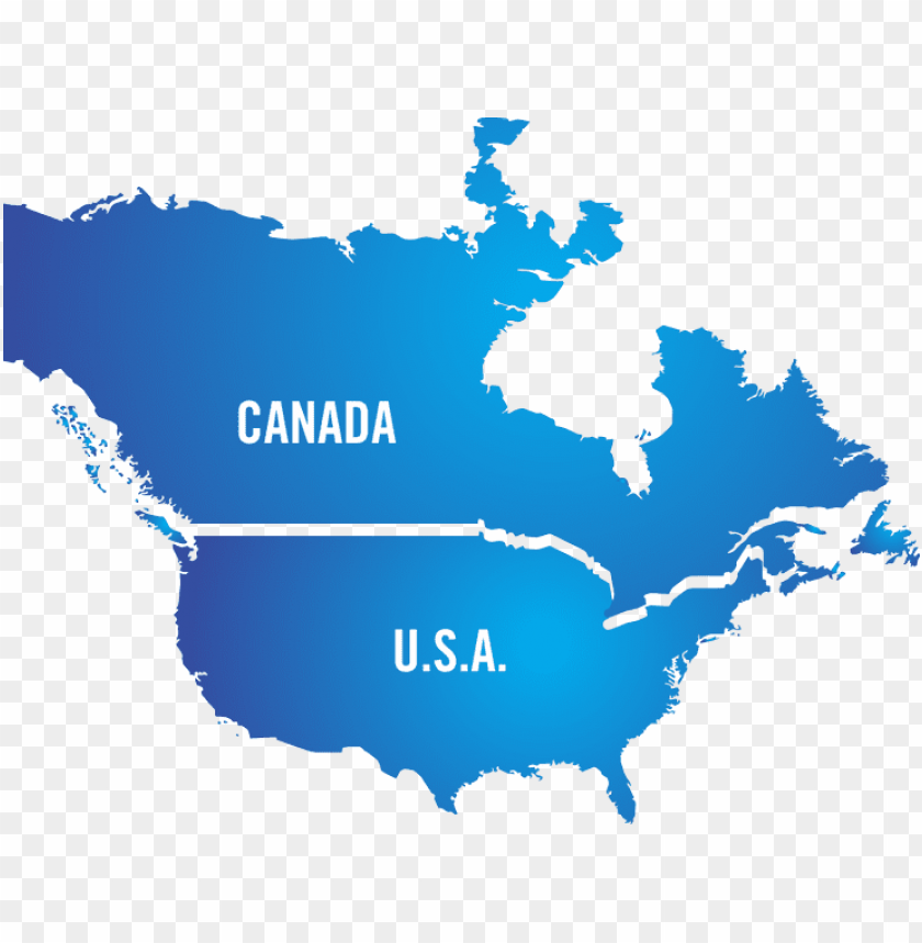 free PNG north america without mex PNG image with transparent background PNG images transparent