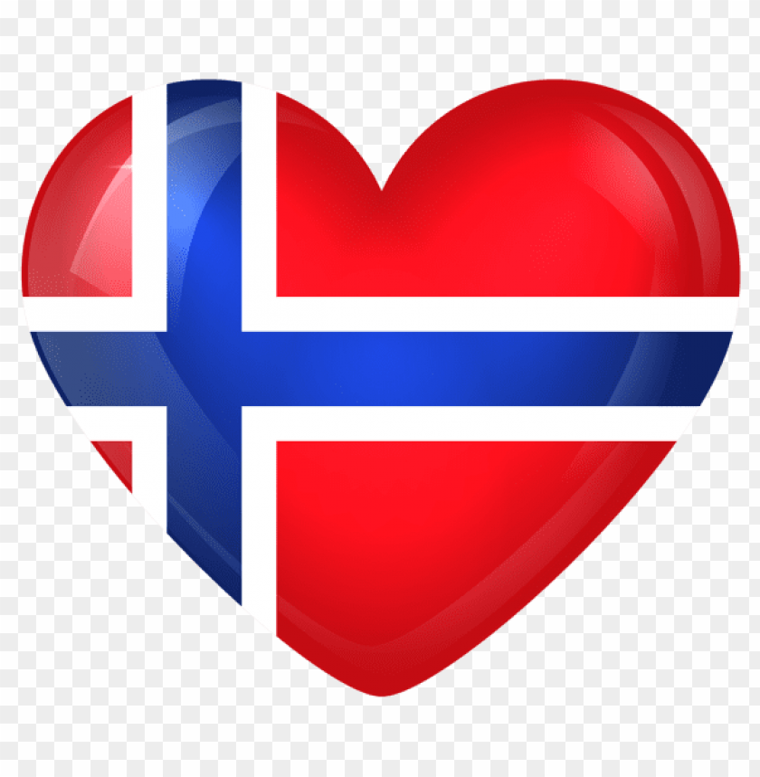 free PNG Download norway large heart flag clipart png photo   PNG images transparent