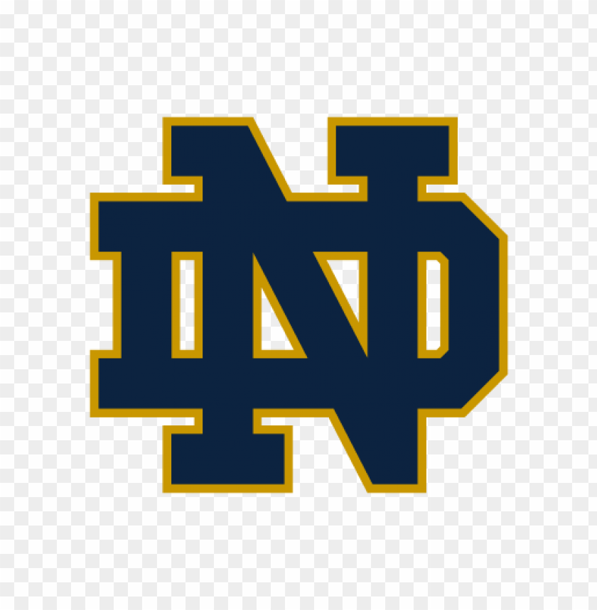 Notre Dame Fighting Irish Logo Vector Toppng