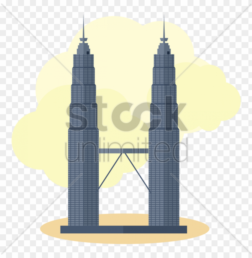 free PNG o to image - petronas twin tower vector PNG image with transparent background PNG images transparent