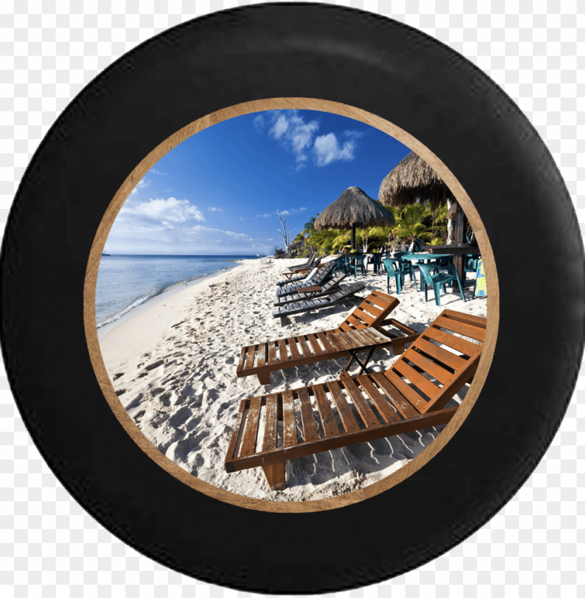 free PNG ocean beach lounge chairs and tiki huts vacation rv - closeout! lamont bonfire bay flamingo cabana round PNG image with transparent background PNG images transparent
