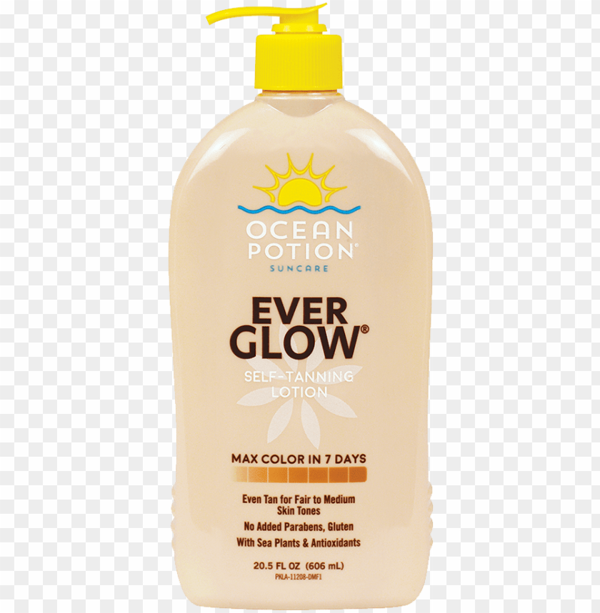 free PNG ocean potion® ever glow® self tanning lotion gives - ocean potion ever glow self tanning lotio PNG image with transparent background PNG images transparent