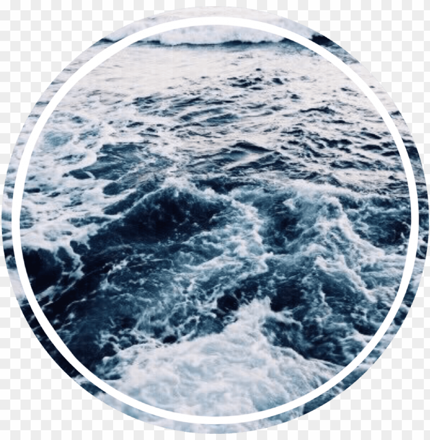 free PNG #ocean #water #circle - ocean aesthetic PNG image with transparent background PNG images transparent