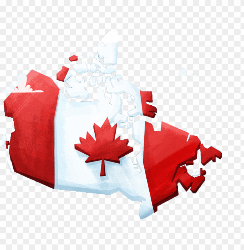 free PNG of maple leaf canadian - canada maple leaf flag PNG image with transparent background PNG images transparent