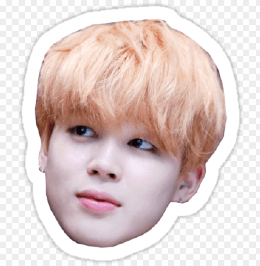 Officially Trash Bts Jimin Png Face Png Image With Transparent