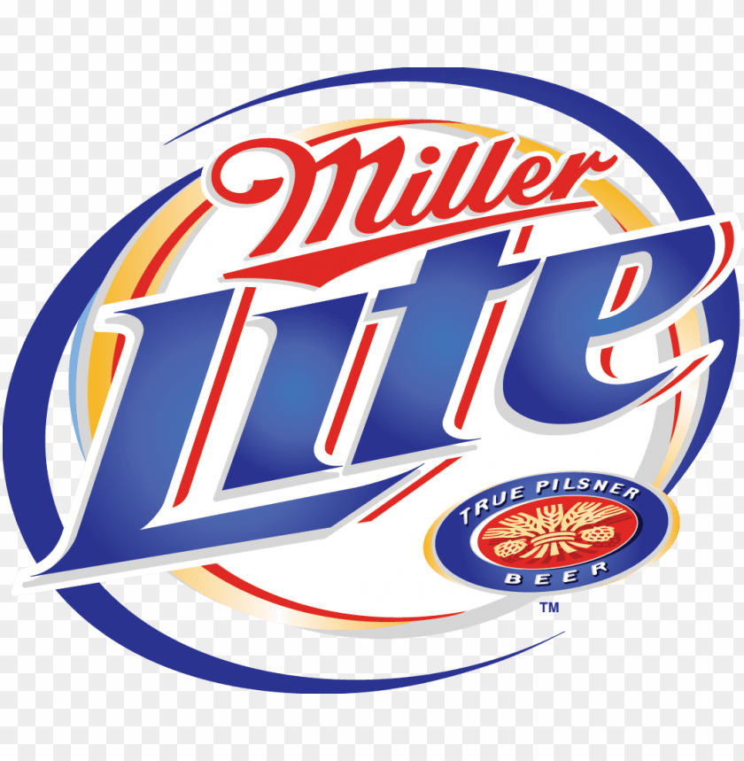 free PNG ok miller lite is probably one of the most well known - miller light beer logo PNG image with transparent background PNG images transparent