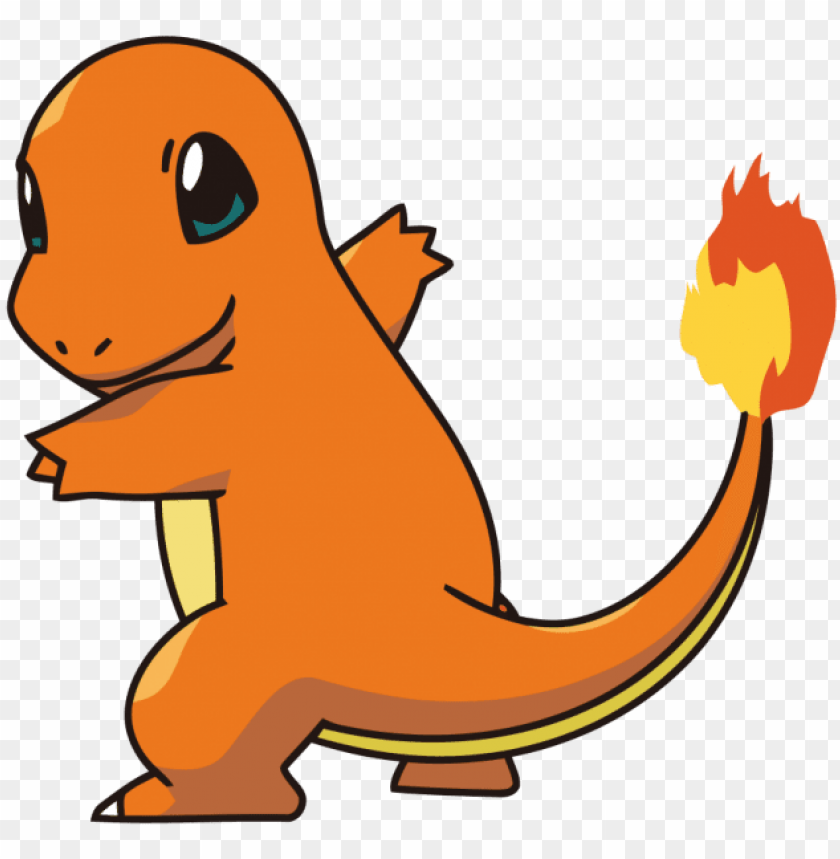 free PNG okemon charmander png - pokemon charmander PNG image with transparent background PNG images transparent