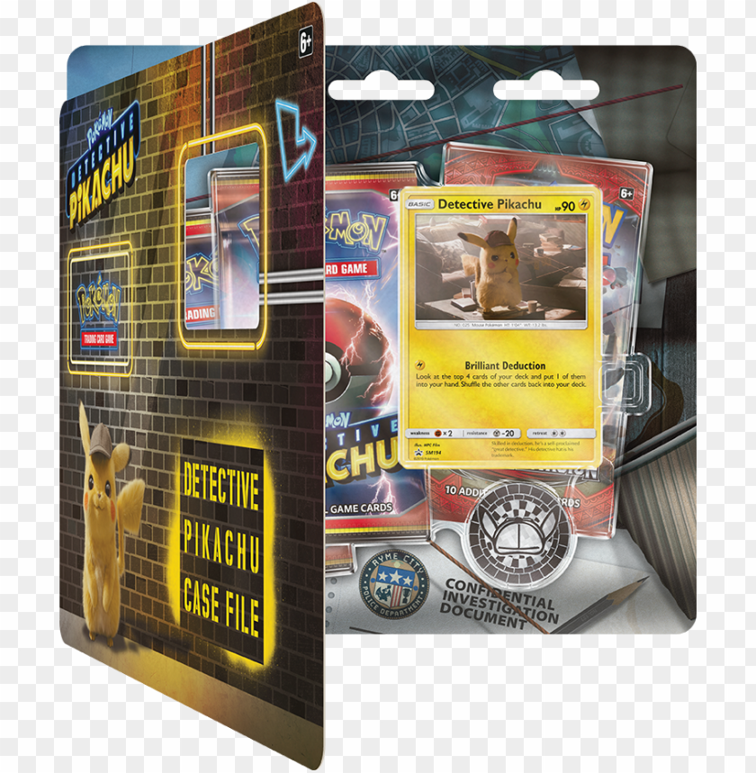 Okemon Detective Pikachu Pokemon Detective Pikachu Cards Png Image With Transparent Background Toppng