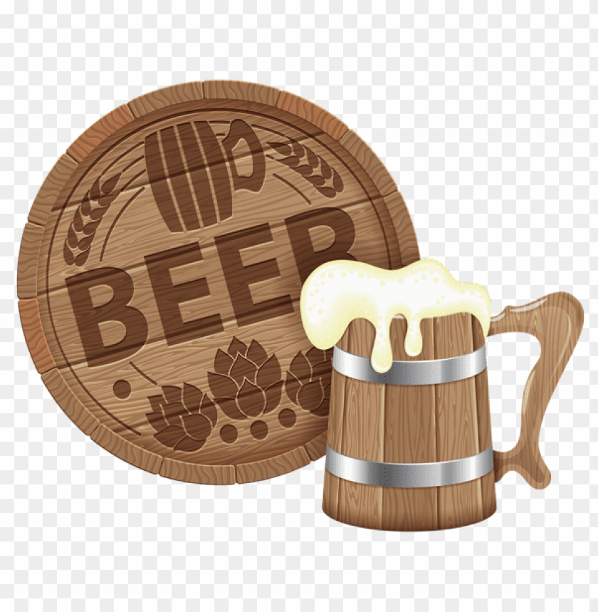 free PNG Download oktoberfest beer barrel and mugpicture png images background PNG images transparent