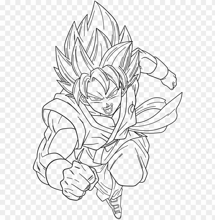 Oku Ssgss Drawing At Getdrawings Goku Super Saiyan God