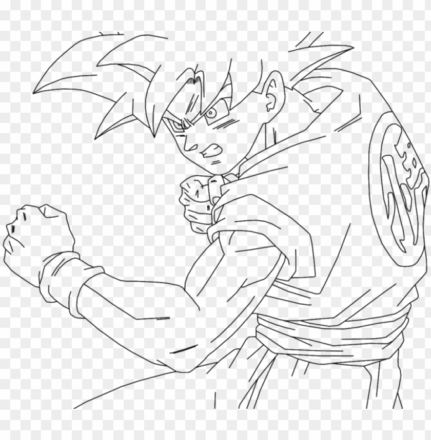 Dragon Ball Z Goten Coloring Pages - Dragon Ball Coloring Pages ... | 859x840