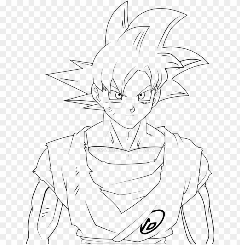 Oku Super Saiyan God Drawing At Getdrawings Super Saiyan