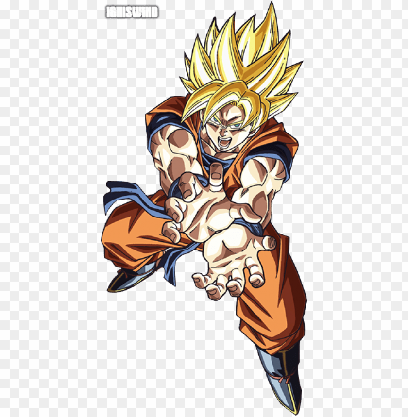 Oku Super Saiyan Kamehameha Goku Super Saiyan 2 Kamehameha