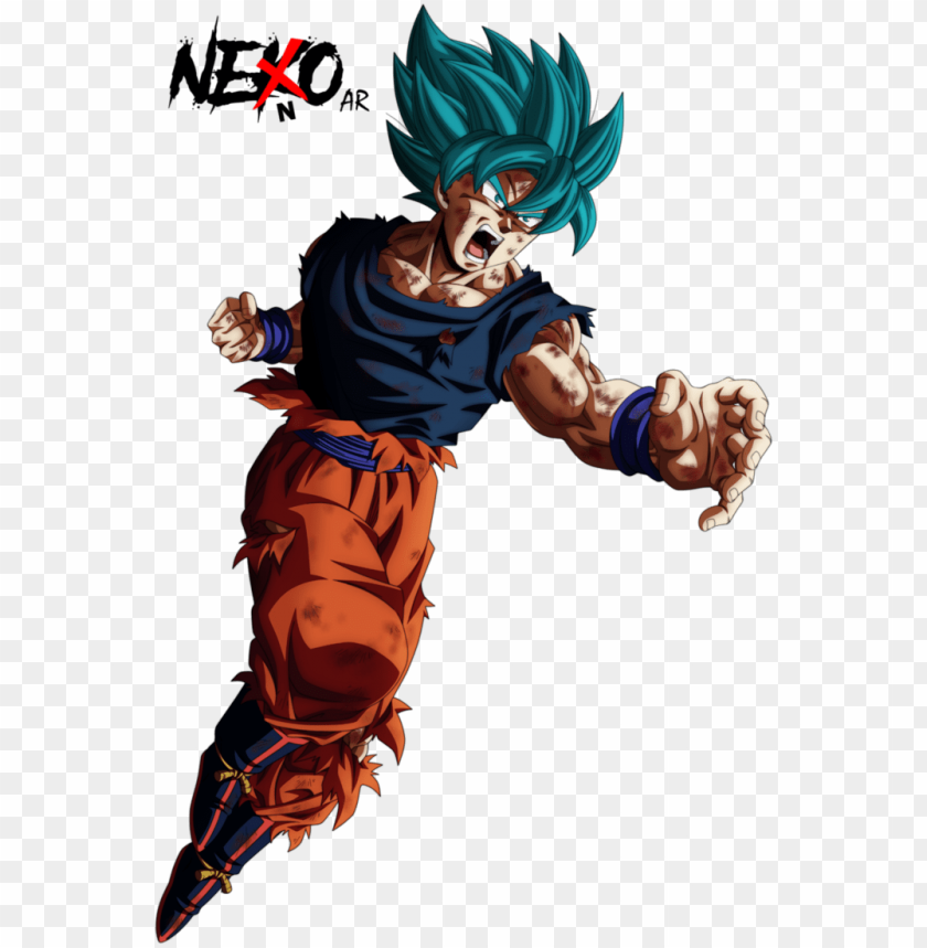 free PNG oku super sayajin blue / dragon ball super - nekoar dragon ball PNG image with transparent background PNG images transparent
