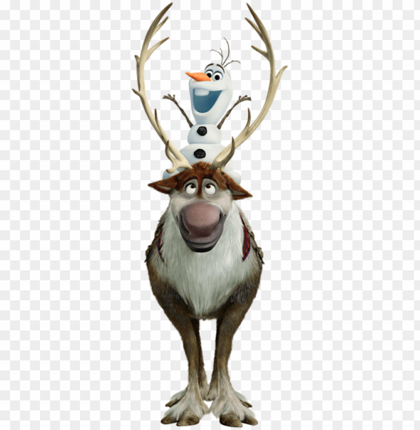 free PNG Download olaf and sven frozen clipart png photo   PNG images transparent