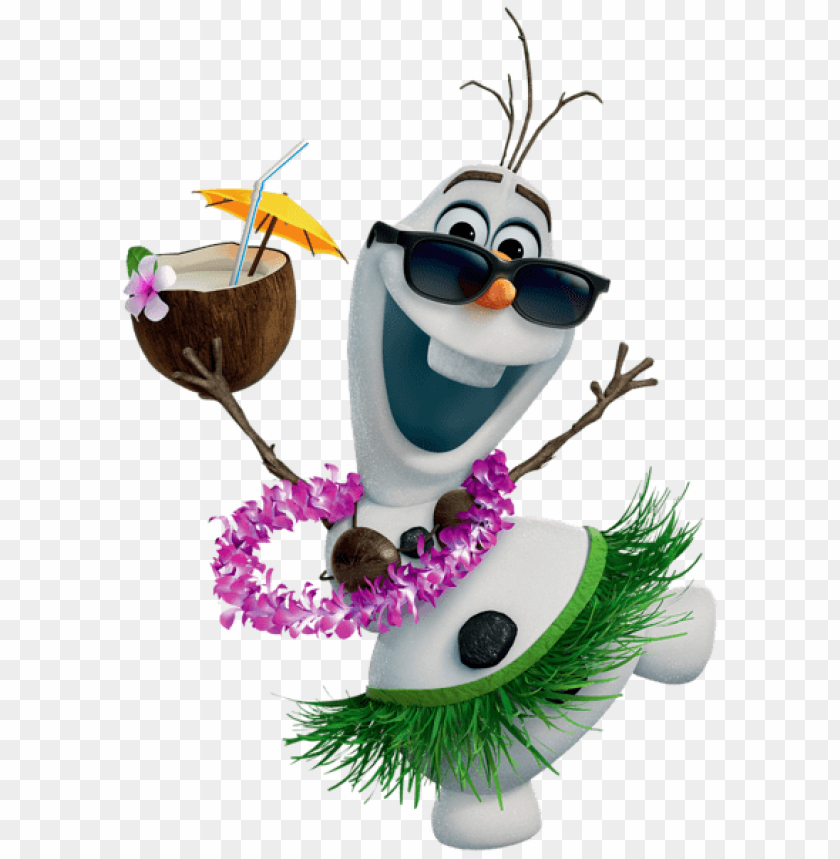 free PNG Download olaf hawaiian frozen clipart png photo   PNG images transparent