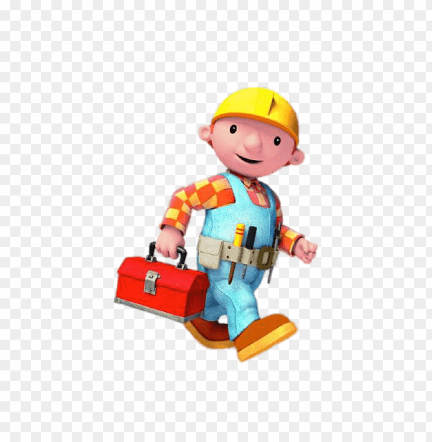 free PNG Download old bob the builder on his way clipart png photo   PNG images transparent