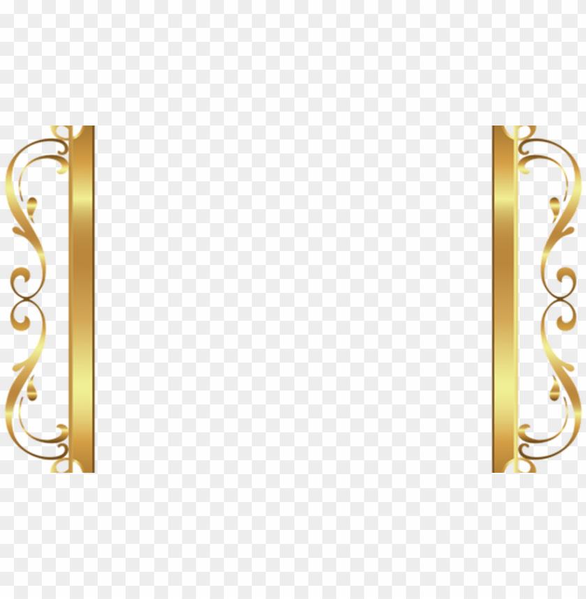 free PNG old border frame deco transparent clip art image gallery - square gold frame border PNG image with transparent background PNG images transparent