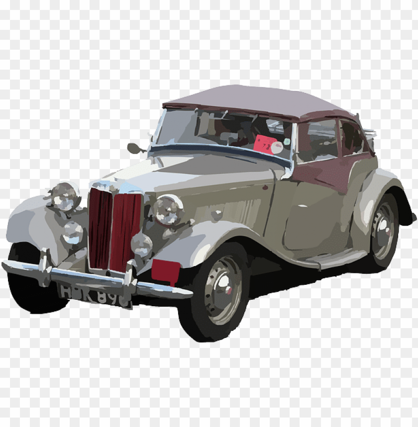 free PNG old, car, style, cars - public domain vintage car vectors PNG image with transparent background PNG images transparent