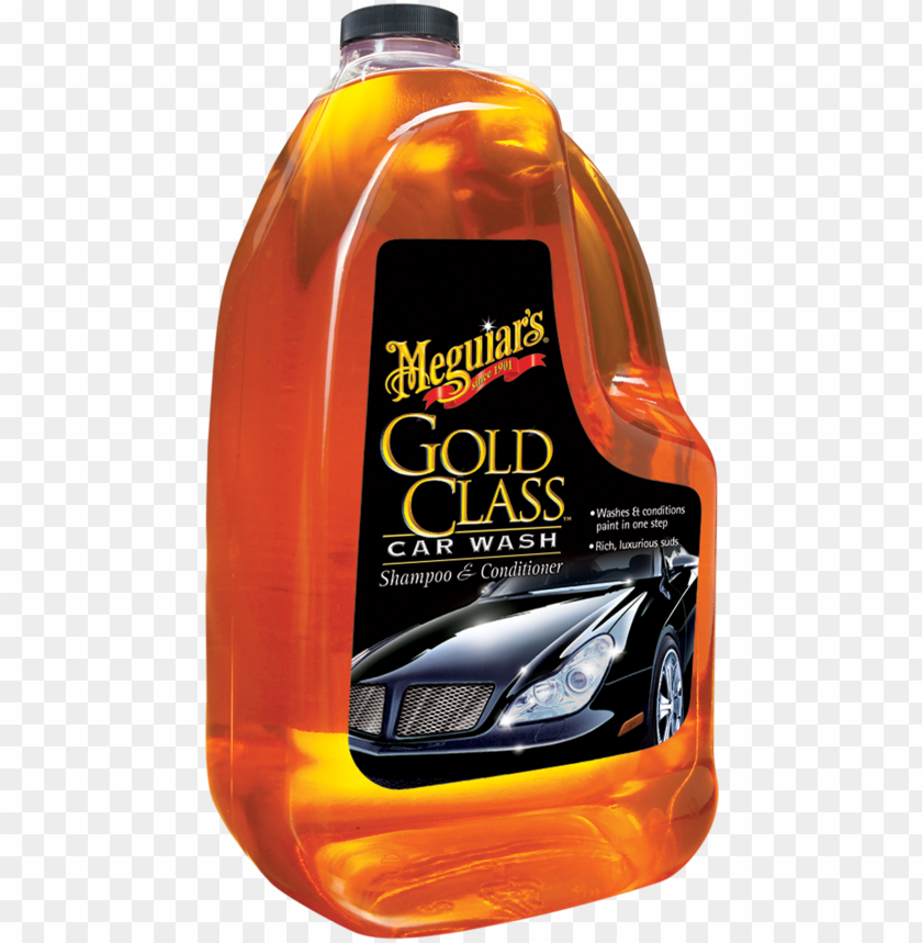 free PNG old class™ car wash shampoo & conditioner - meguiars gold class PNG image with transparent background PNG images transparent