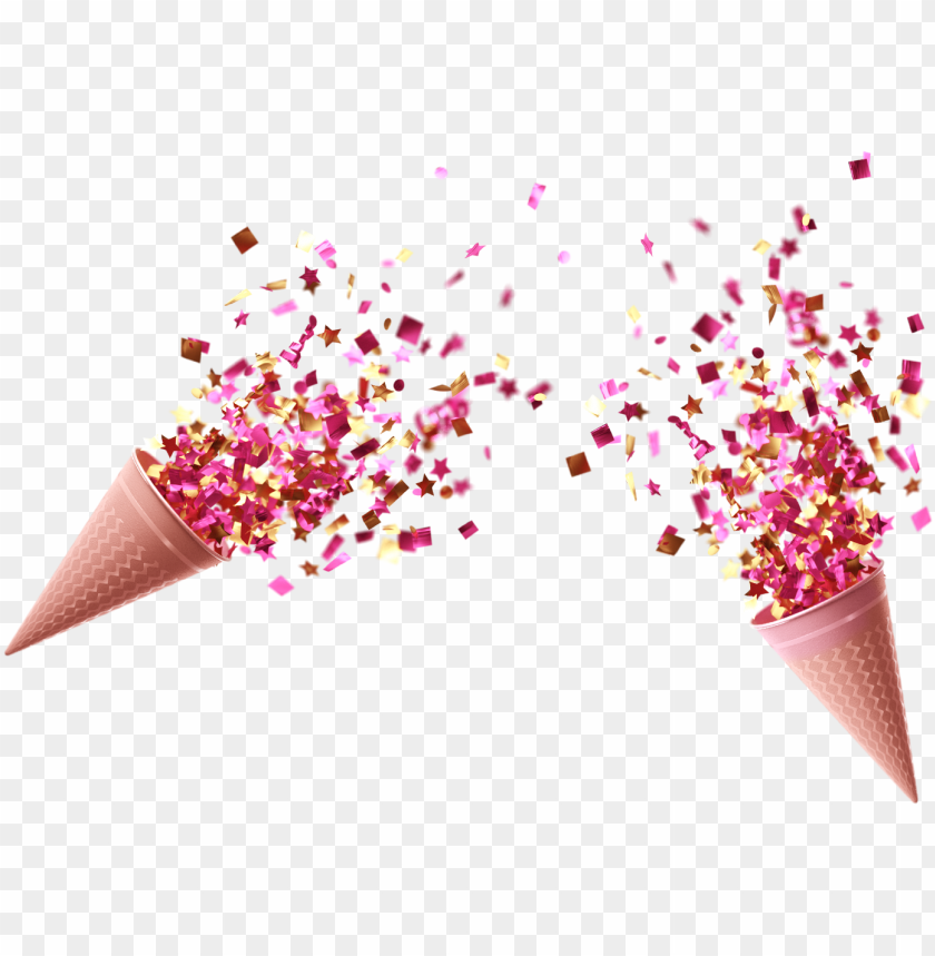 free PNG old confetti cups cannon 3d - transparent confetti cannon PNG image with transparent background PNG images transparent