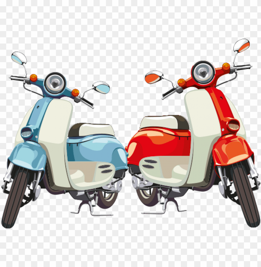 free PNG old fashioned scooter PNG image with transparent background PNG images transparent
