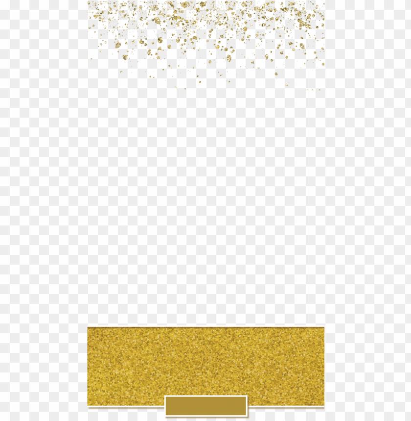 free PNG old glitter banner wedding snapchat filter - gold glitter banner PNG image with transparent background PNG images transparent