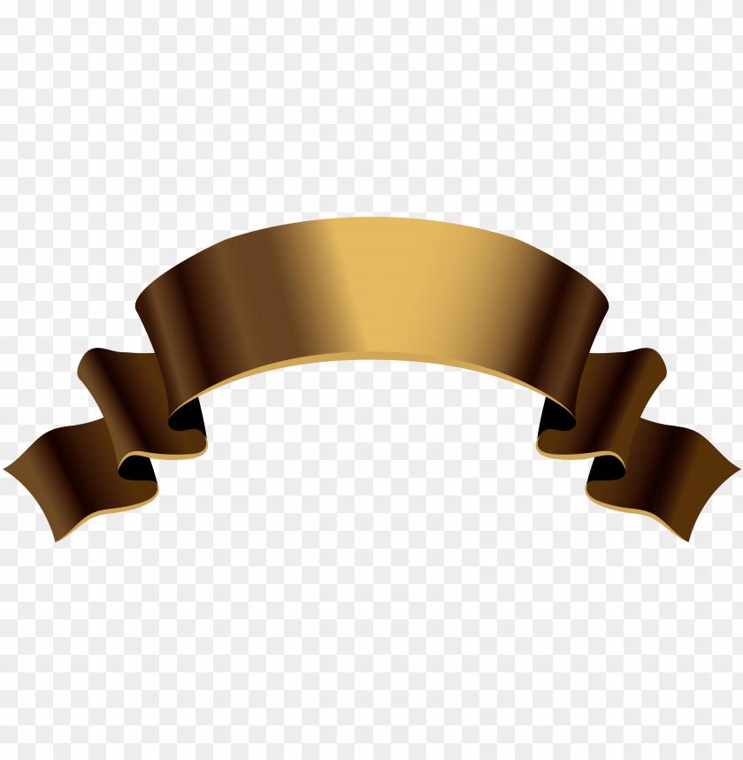 free PNG old gold banner png clipart image - old banner PNG image with transparent background PNG images transparent