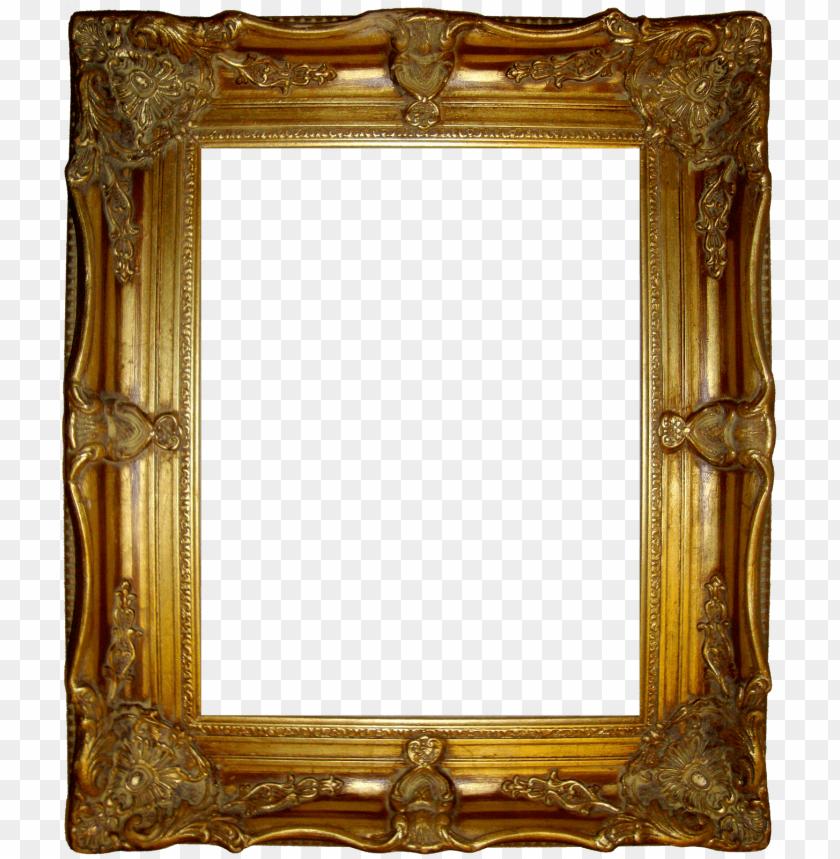 free PNG old golden frame PNG image with transparent background PNG images transparent