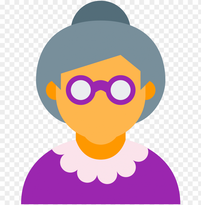free PNG old lady icon - old woman icon png - Free PNG Images PNG images transparent