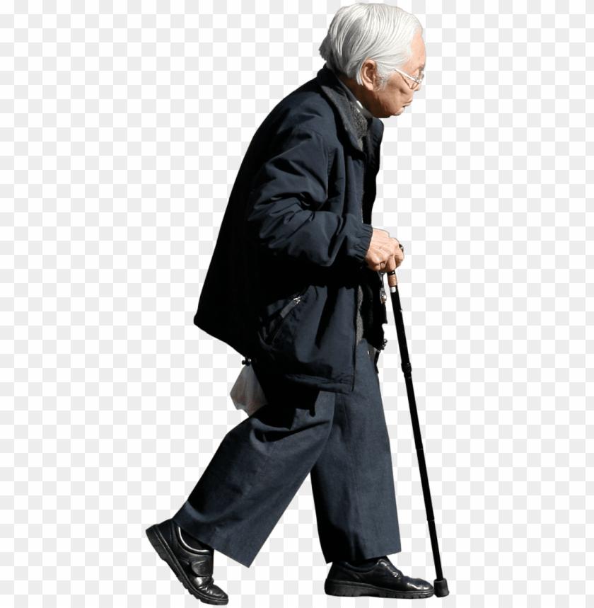 free PNG old man download transparent png image - old man walking PNG image with transparent background PNG images transparent