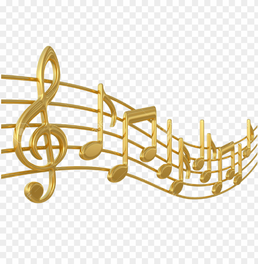 free PNG old music notes png - golden music notes PNG image with transparent background PNG images transparent